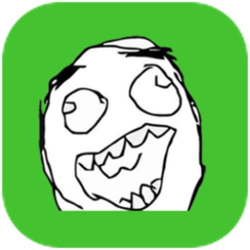 Crazy Meme - Emoji, Rage, Sticker