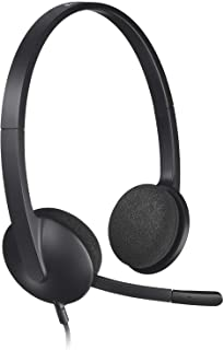 Logitech USB Headset H340, Stereo, USB Headset for Windows and Mac