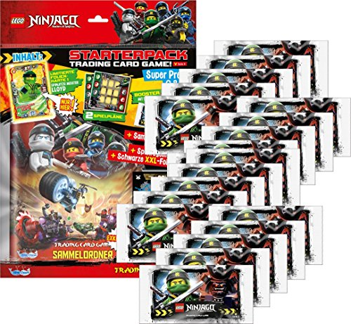 Sammelkarten LEGO Ninjago Serie 3 (1 Starter + 20 Booster)