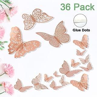 Best rose gold butterfly wallpaper Reviews