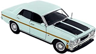 Diecast Model Ford Falcon XW Sedan Diamond White Die Cast Car 1:32 Scale by Oz Legends Genuine Licensed Product - Collecti...