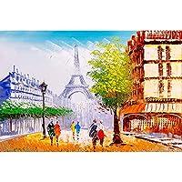 300,500,1000個のピースのおもちゃ、手描きの抽象的な油絵シリーズパズルおもちゃ、大人の教育ゲームおもちゃ、子供家族のジグソーパズルの贈り物のための脳挑戦パズル (Color : 1000PCS)
