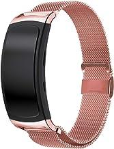 SM-R365 Bracelet Interchangeable en Acier Inoxydable pour Samsung Gear Fit 2 // Gear Fit 2 Pro SM-R360 Linksky Compatible avec Les Bracelets Samsung Gear Fit 2 // Gear Fit 2 Pro