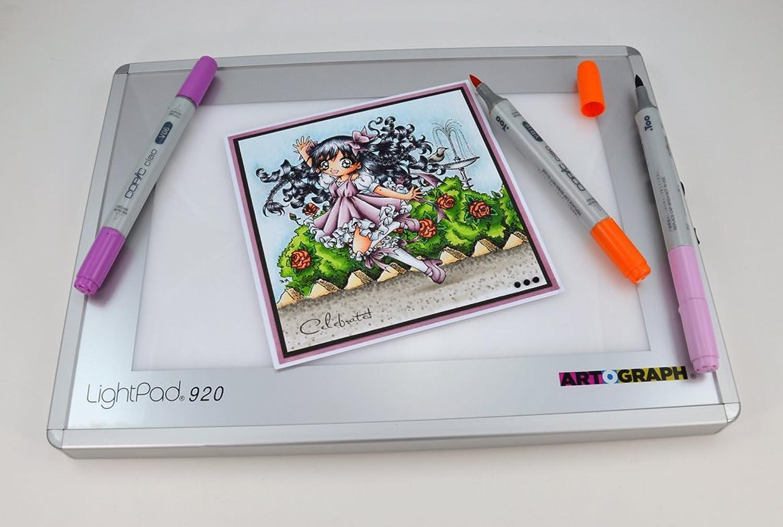 Artograph ar225 – 922 A920 LED Lightpad Leuchttisch weiß 15 x 23 cm Größe A5 B007AIFZ7S | Flagship-Store