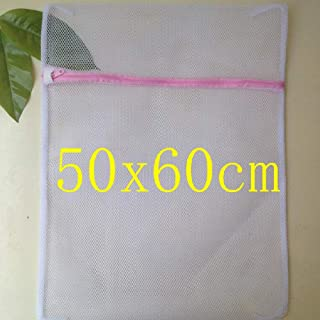 Xinyuanjiafang Size 60cm Clothes Washing Machine Laundry Bra Aid Lingerie Mesh Net Wash Bag Pouch Basket femme 10pcs