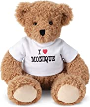 Vermont Teddy Bear Stuffed Animal - I Heart You, Super Soft, Custom, 18 Inch
