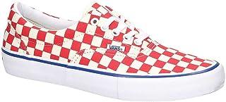 3488070f43 Vans Era Pro (Checkerboard) Rococco Red Men s 11