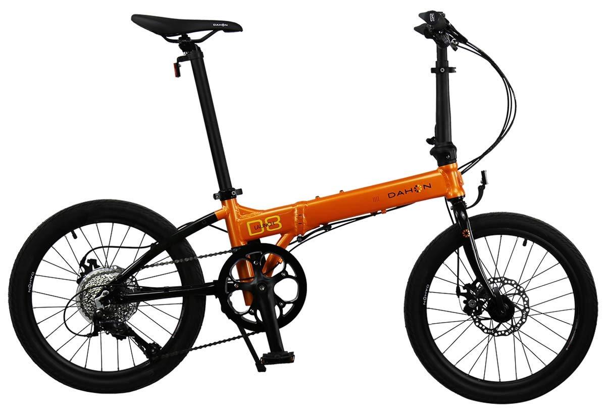 Dahon Launch D8 - Bicicleta Plegable, Color Naranja y Negro ...