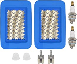 MOTOKU Air Filter Spark Plug Fuel Repower Tune-Up Kit for Echo Backpack Leaf Blower 2 Stroke Engine PB-403 PB-403H PB-403T PB-413,PB-413H PB-413T PB-500H PB-500T PB-580H PB-580T PB-620 PB-650 PB-650H