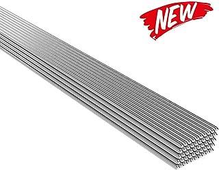 KKmoon Low Temperature Aluminum Welding Rod 2mm500mm Al-Mg Soldering Rod No Need Solder Powder,50PCS