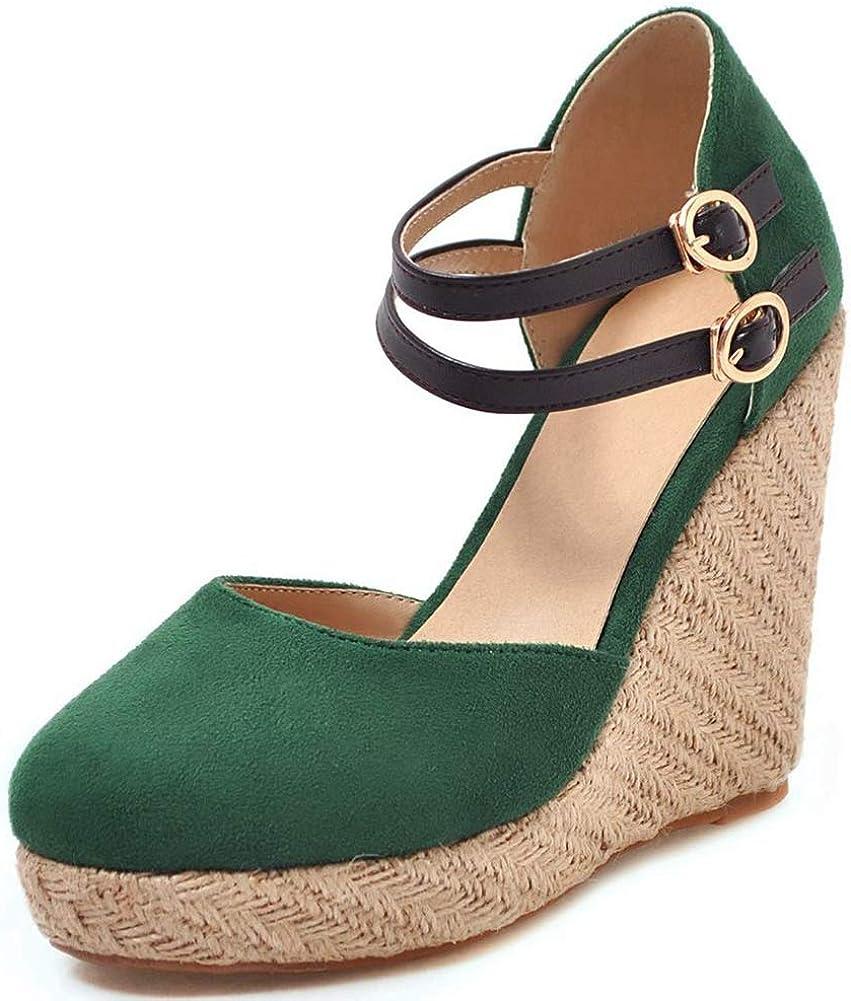 Vimisaoi San Francisco Bombing new work Mall Women's Summer Cap Toe Handmade Sandals Wedge Platform
