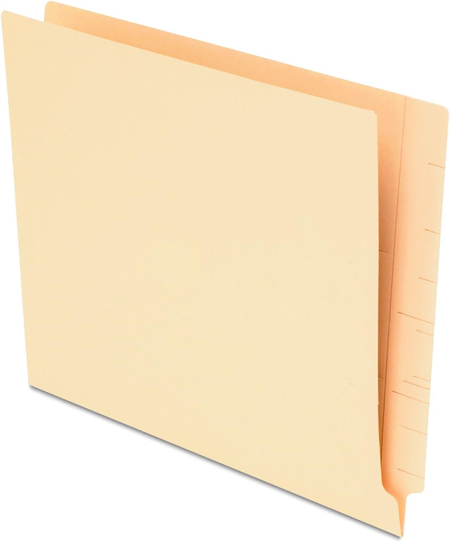 Pendaflex New products world's highest quality popular Smart Shield End-Tab Folders Size Manila 75 Charlotte Mall Letter