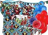 ipt IRPot - Kit N.57 Kit Compleanno Bambino Vari Personaggi (Avengers Assemble)