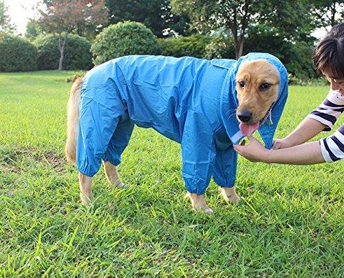 Respirant légère imperméable pour chien Manteau Poncho pour chien