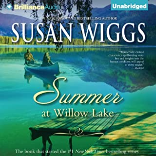 Summer at Willow Lake audiobook cover art