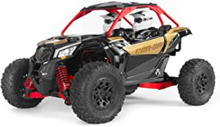 Axial Yeti Jr. Can-Am Maverick X3 4WD Brushed Side-by-Side RTR (Includes 2.4 Ghz Transmitter, Battery & Charger): 1/18 Scale, AXI90069