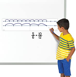 EAI Education Magnetic Demonstration Open Double Number Line
