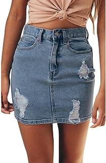 944673e2 Amazon.es: faldas vaqueras mujer - Faldas / Mujer: Ropa