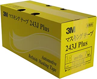 #243J PLUS マスキングテープ 18ミリ×18M 70P