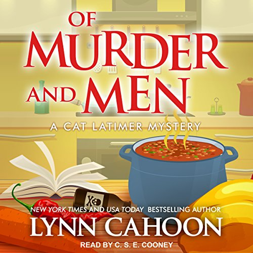 Of Murder and Men     Cat Latimer Mystery Series, Book 3              By:                                                                                                                                 Lynn Cahoon                               Narrated by:                                                                                                                                 C. S. E. Cooney                      Length: 8 hrs and 4 mins     106 ratings     Overall 4.6