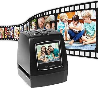 Aibecy-Escáner de negativos portatil, Convertidor de película de Diapositivas de 35 mm y 135 mm Visor de imágenes Digitale...