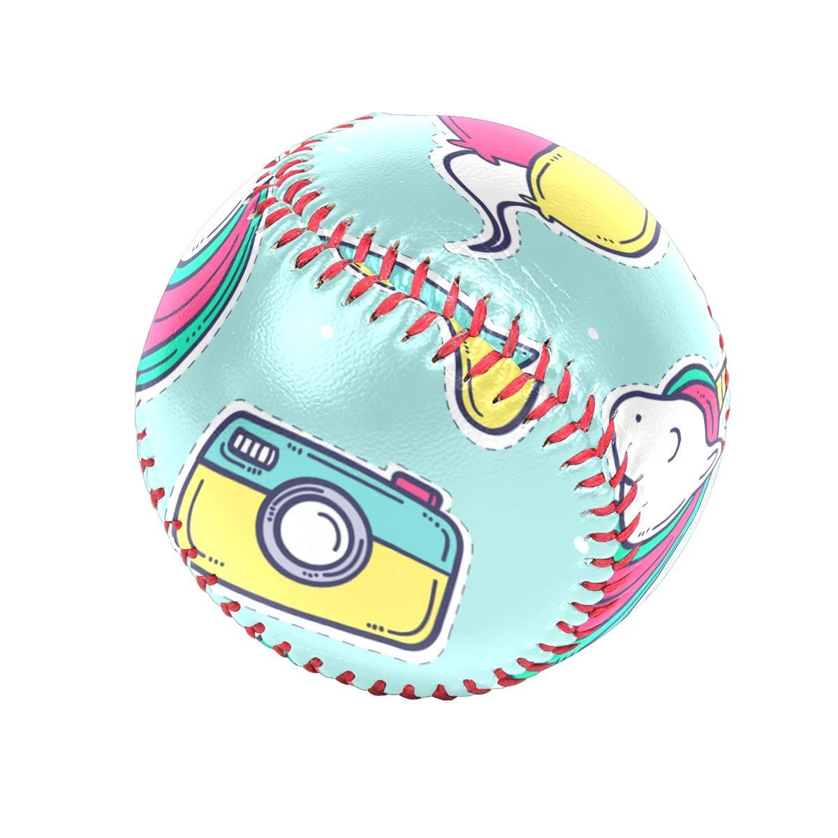 Sawhoon Rainbow - Pelota de béisbol de Unicornio Rosa para Adultos ...