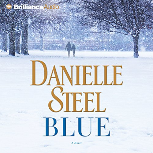 Blue audiobook cover art