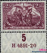 German Empire 115 han 1920 Postage Stamp (Stamps for Collectors)