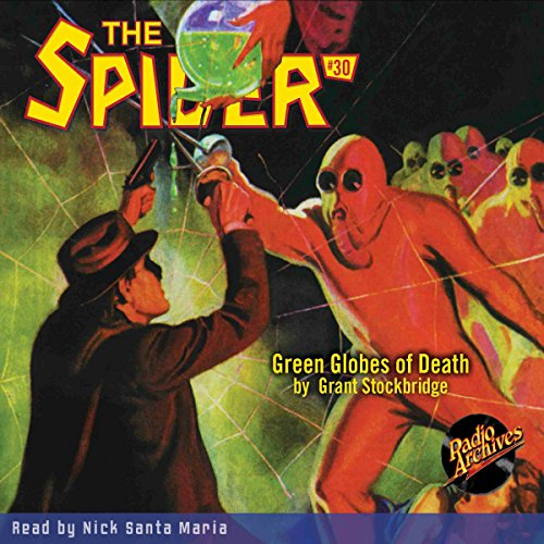 Green Globes of Death audiobook cover art