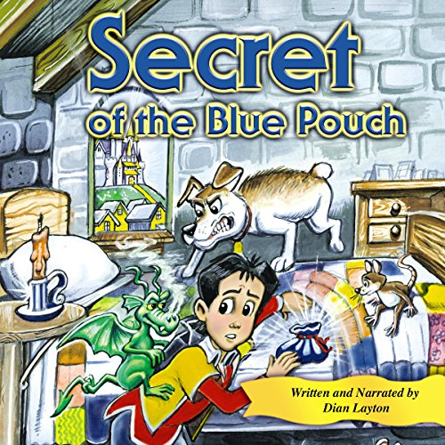 Secret of the Blue Pouch  audiobook cover art