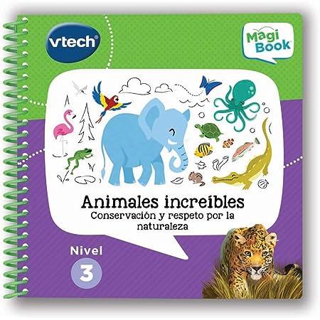 VTech- Animales Increíbles, Conservación y Respeto por la Naturaleza Libro para Magibook, Multicolor (3480-481022)