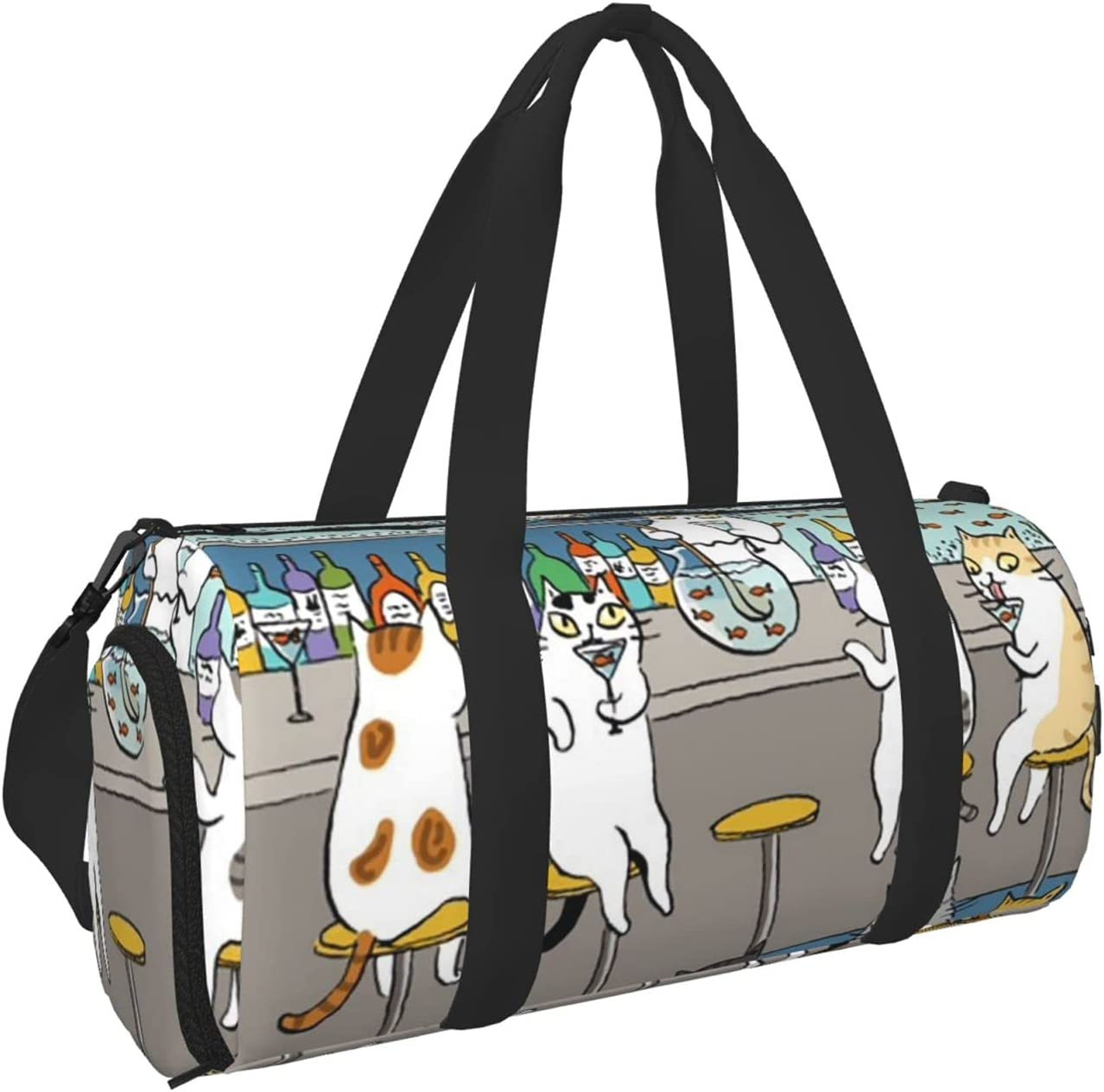 Cat in the bar Award Gym Bag for Women Duffel and Travel Men Yoga List price