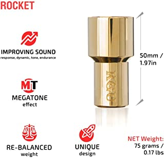 TRUMPET MOUTHPIECE BOOSTER KGUBrass. CUSTOM MADE ROCKET TRUMPET BOOSTER KGU Gold Plated 24K Color