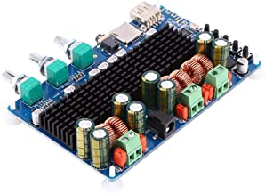 Digital 2.1 Channel Amplifier Board Bluetooth USB TF Input 50w x2 Subwoofer BTL 100w Home..