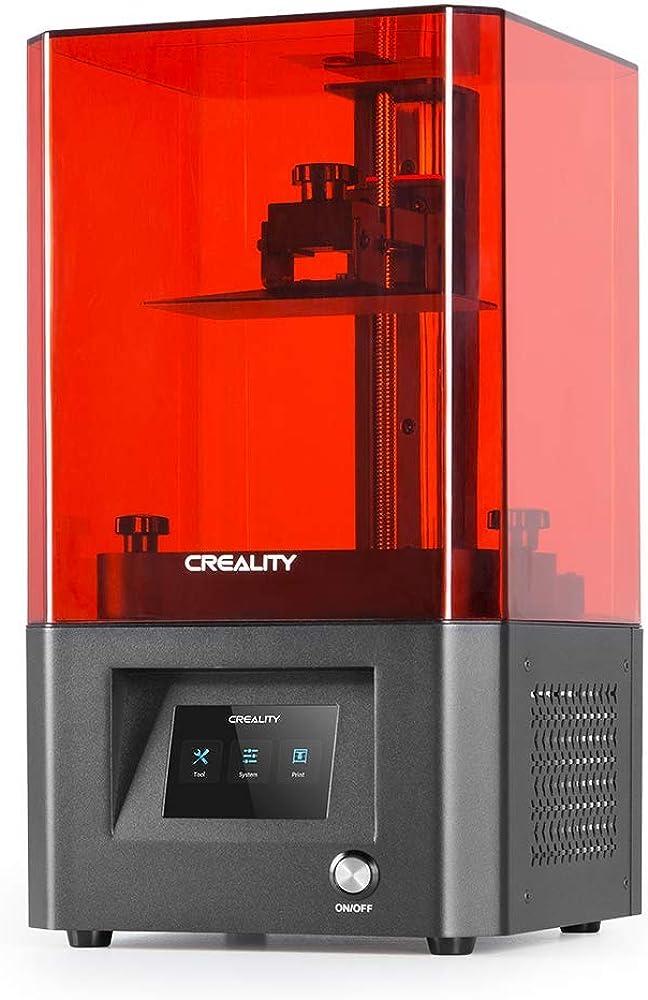 Comgrow,stampante 3d ufficiale creality,in resina lcd monocromatica,dimensioni grandi 5,12x3,23x6,3 3DYLD-002HMGCOMKTFJJ