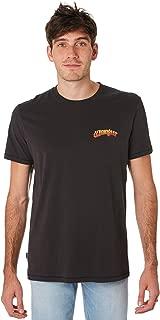 Wrangler Men's On The Rise Mens Tee Short Sleeve Cotton Black