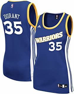 adidas Kevin Durant Golden State Warriors NBA Women's Blue Official Road Replica Jersey