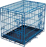 Internet's Best Double Door Steel Crates Collapsible and Foldable Wire Dog...