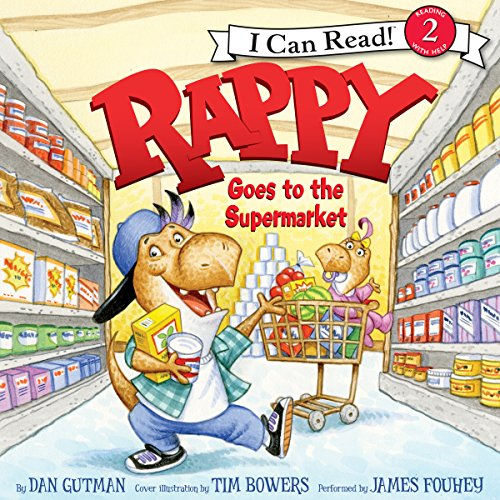 Rappy Goes to the Supermarket audiobook cover art