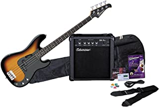 $184 Get Silvertone LB11 Bass Guitar and Amp Package, Sunburst