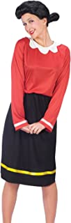 Fun World Women's Olive Oyl Oil Popeye Costume