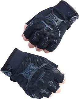 Children Half Finger Fingerless Short Gloves Mitt Mitten for Cycling MTB Exercise Skate Skateboard Roller Skating