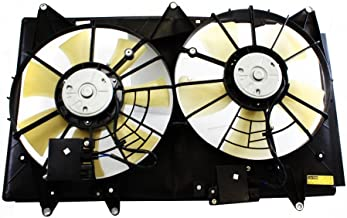 Dual Radiator and Condenser Fan Assembly - Cooling Direct For/Fit MA3115139 07-09 Mazda CX-7 WITHOUT Controller Module