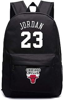 ULIIM Michael Jordan 23 Mochilas Escolares de Lona de Alta