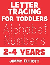Letter Tracing For Toddlers 2-4 Years: Fun With Letters - Kids Tracing Activity Books - My First Toddler Tracing Book - Red Edition