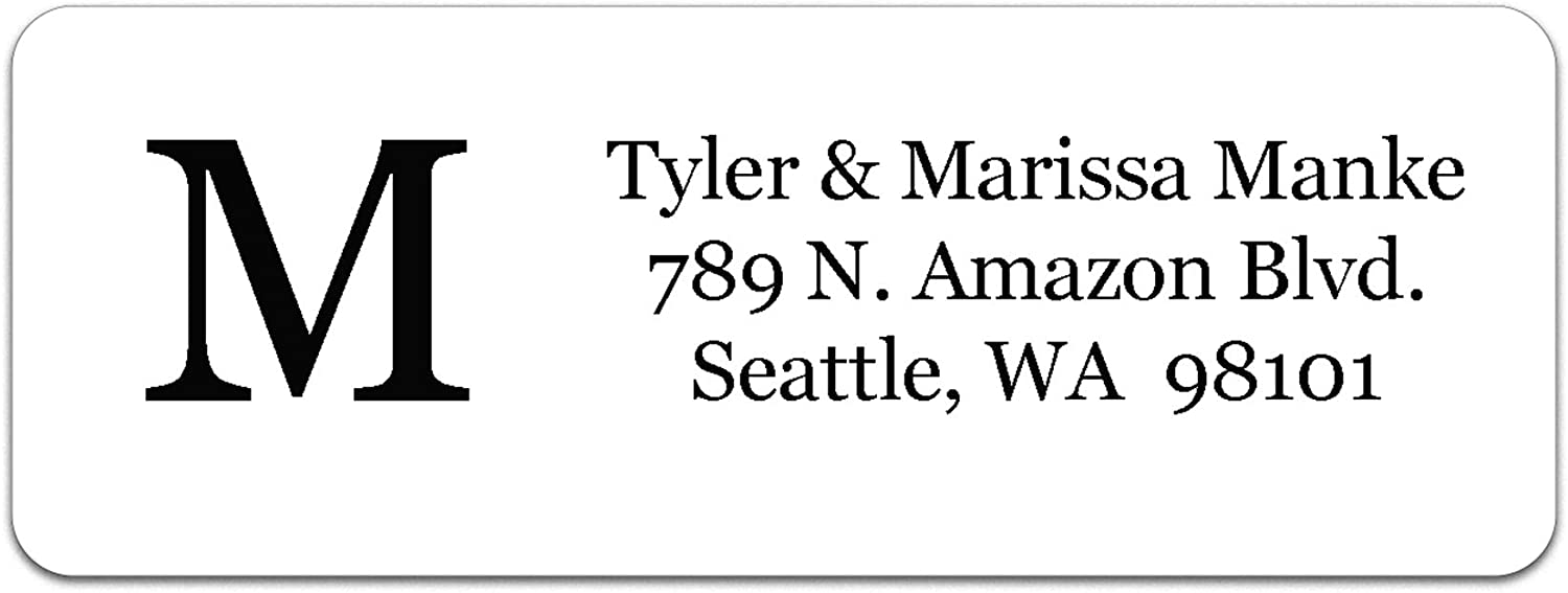 Credence Personalized Return Address Labels - The Made 510 in U. Max 66% OFF