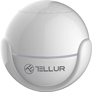 Tellur Smart WiFi czujnik ruchu, bezprzewodowy, czujnik ruchu PIR, sterowany za pomocą aplikacji, nie wymaga koncentrator...