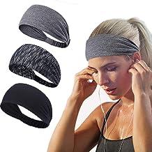 Damen Herren Sport Running Sweat Schweißband Stirnband Yoga Gym Hair Head Band
