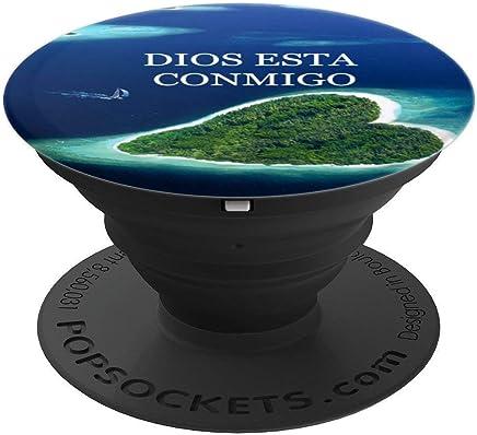 PopSockets DIOS ESTA CONMIGO El Accesorios Imprescindible - PopSockets Grip and Stand for Phones and Tablets