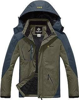 Men's Mountain Waterproof Ski Snow Jacket Winter Windproof Rain Jacket